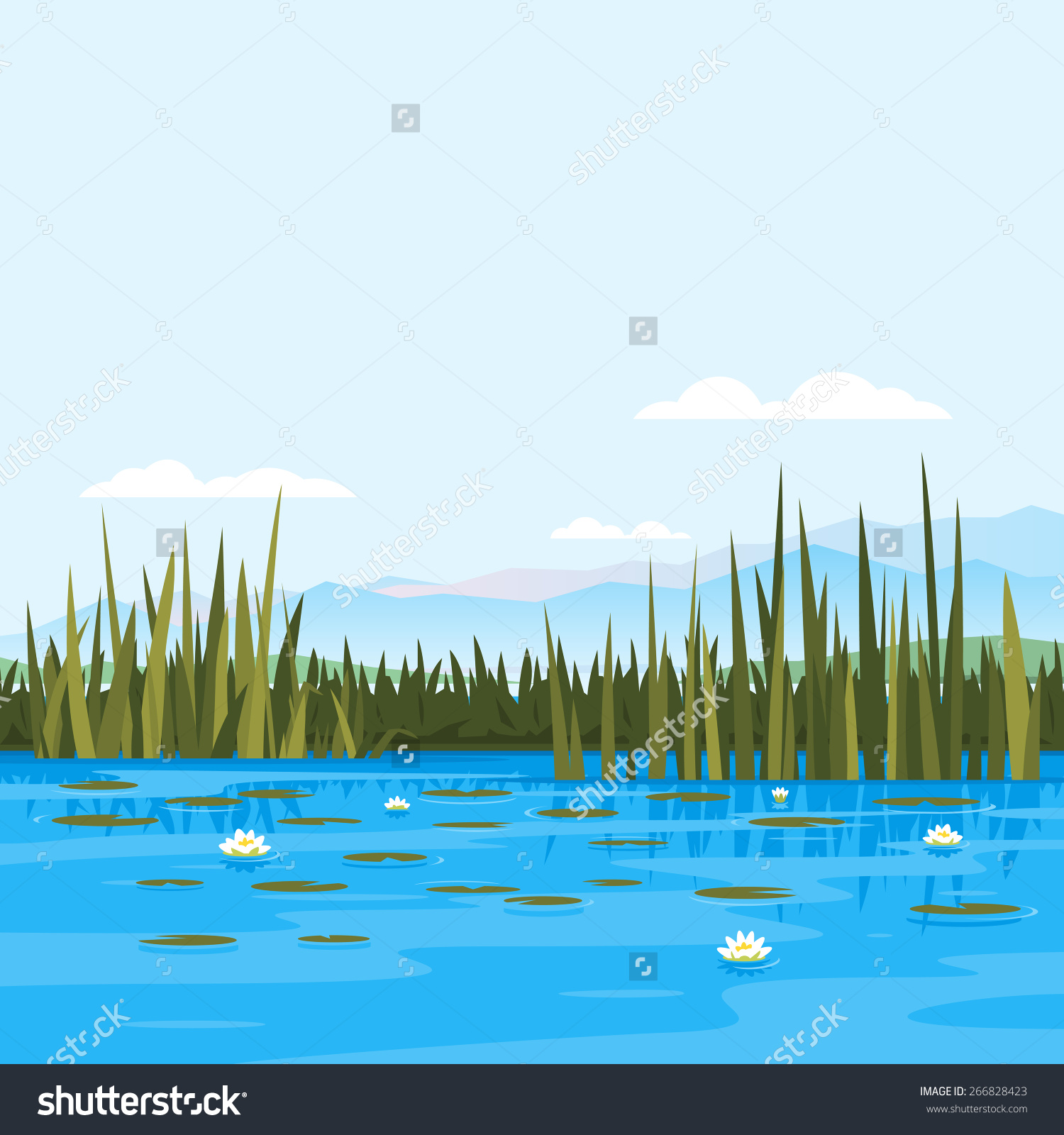 Lake water clipart - Clipground
