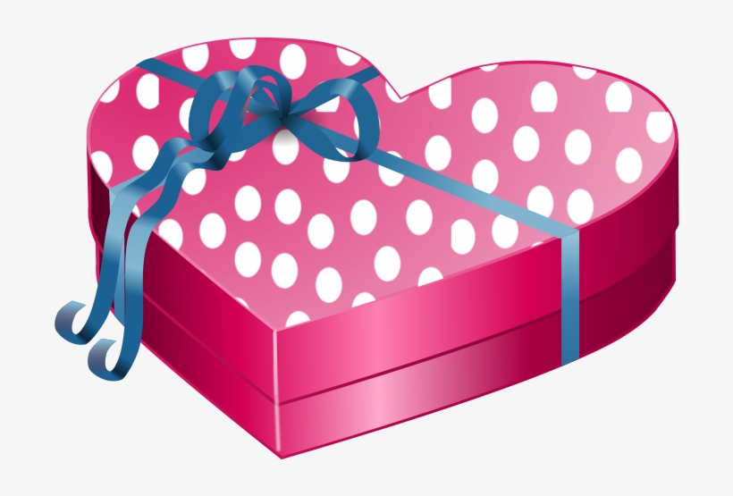 White Gift Box With Pink Bow Png Clipart.