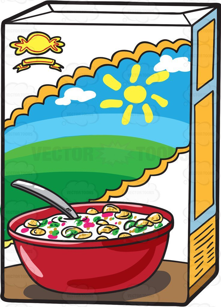 Box of cereal clipart 4 » Clipart Portal.