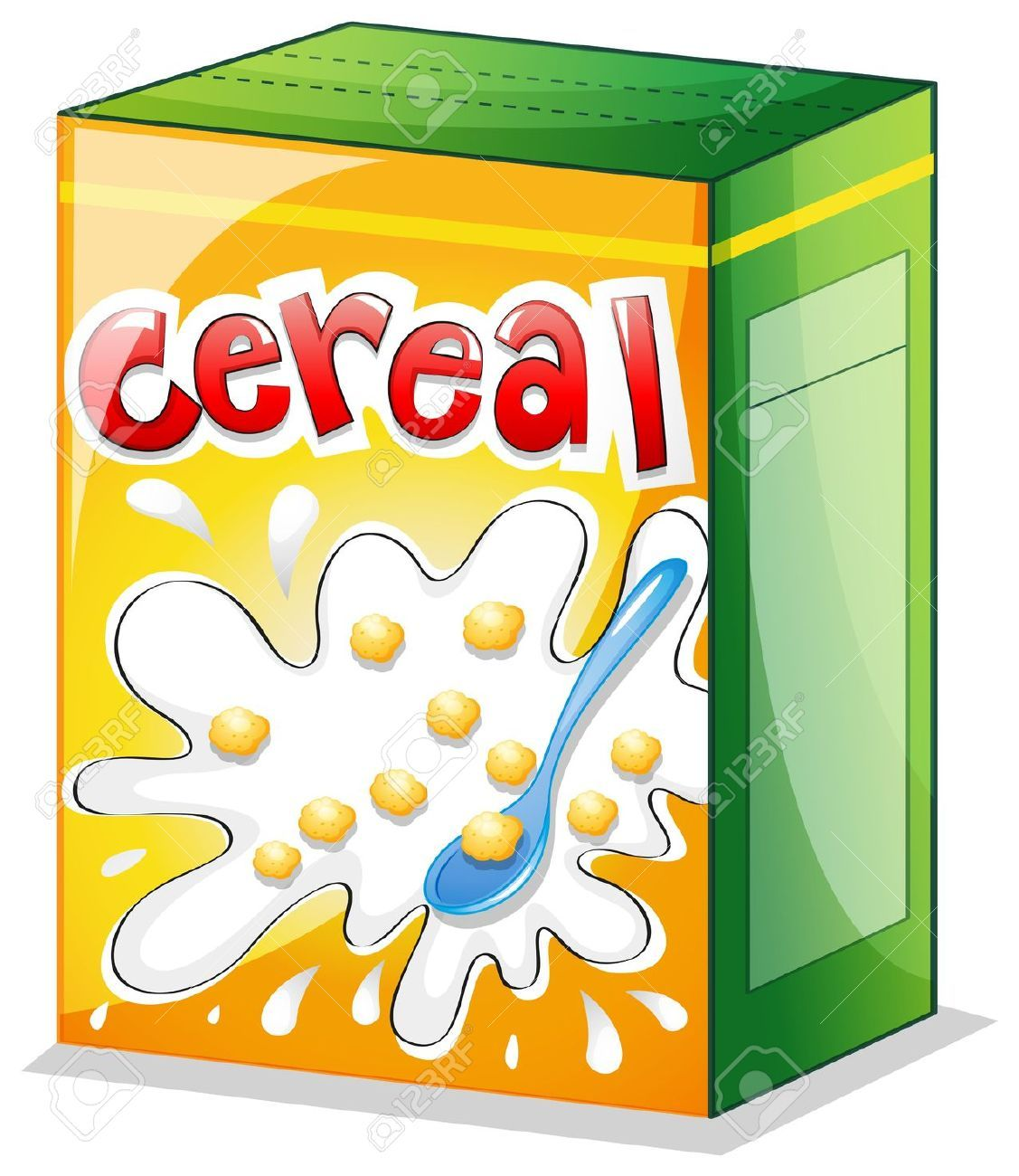 Box of cereal clipart 3 » Clipart Portal.