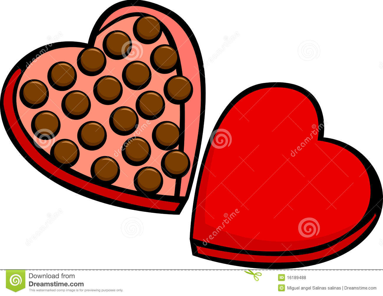 Chocolates Clipart.