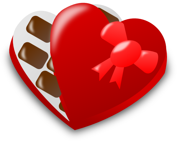 Valentine Chocolate Box Clip Art at Clker.com.