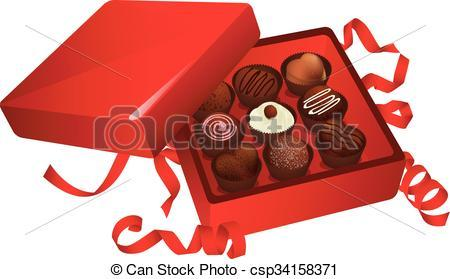 Box of chocolate clipart 2 » Clipart Portal.