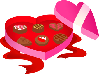 Box of chocolates clip art free.