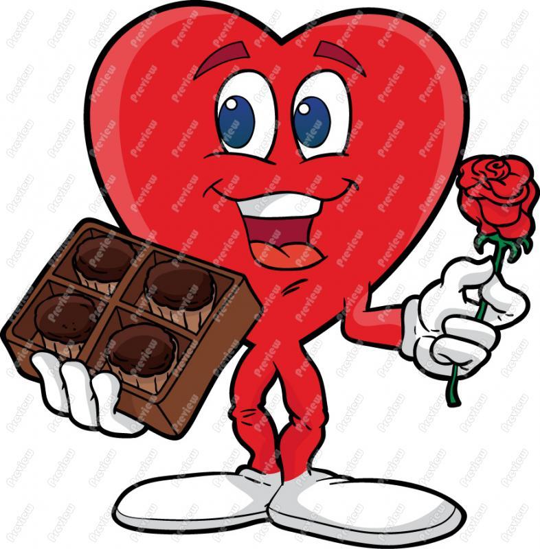Box of chocolates clipart #4