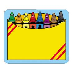 Box of crayons clipart 3 » Clipart Station.