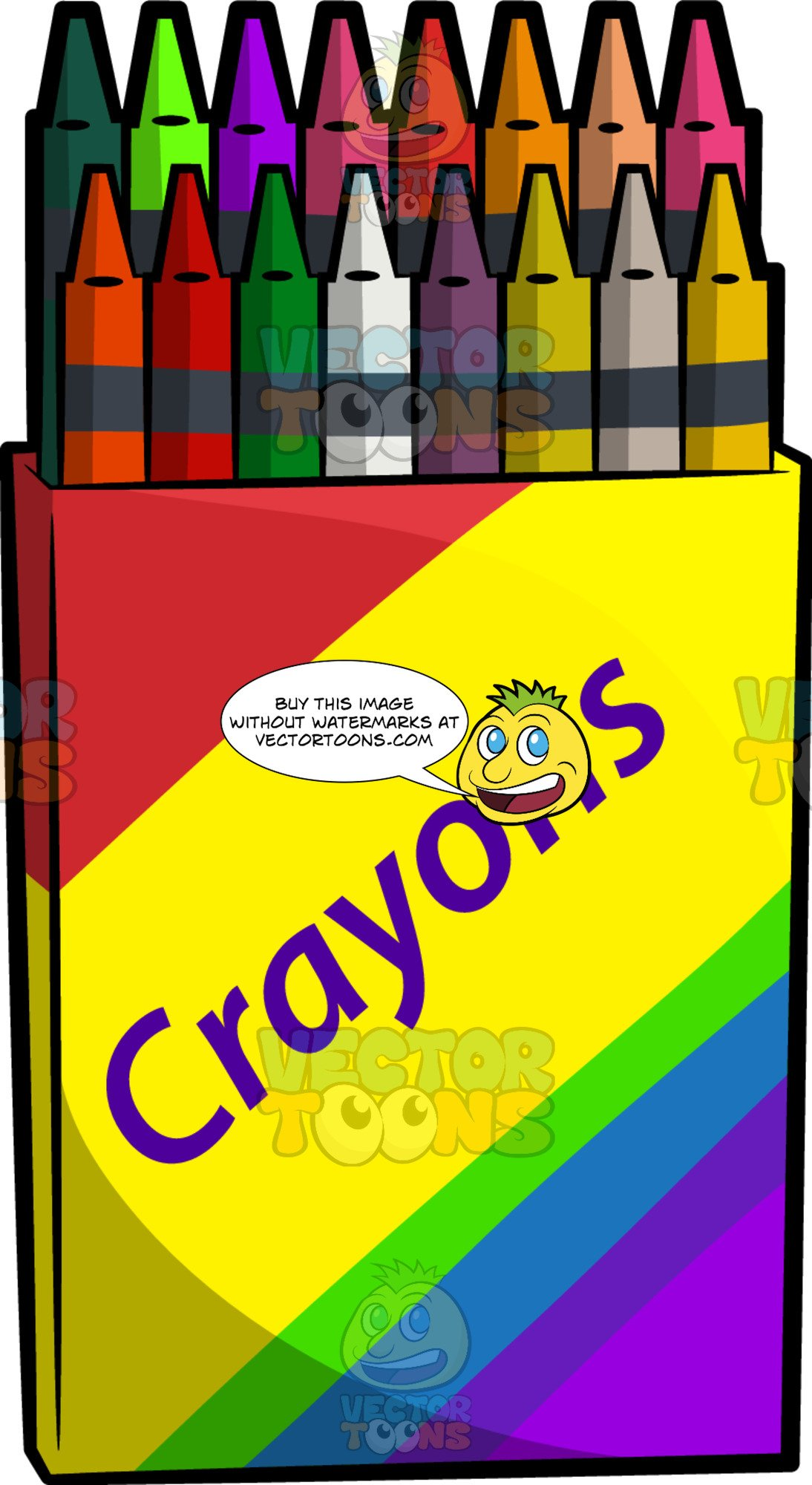 A Box Of Crayons.