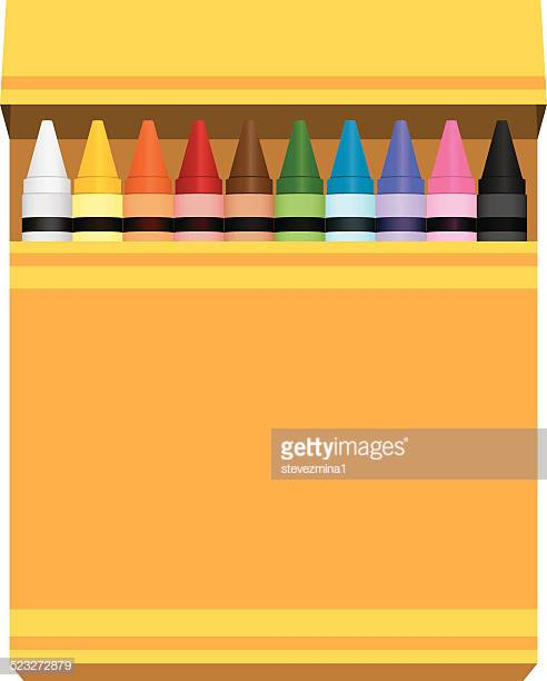 60 Top Crayon Box Stock Illustrations, Clip art, Cartoons, & Icons.