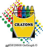 Box Of Crayons Clip Art.