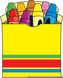 Pack Of Crayons Clipart.