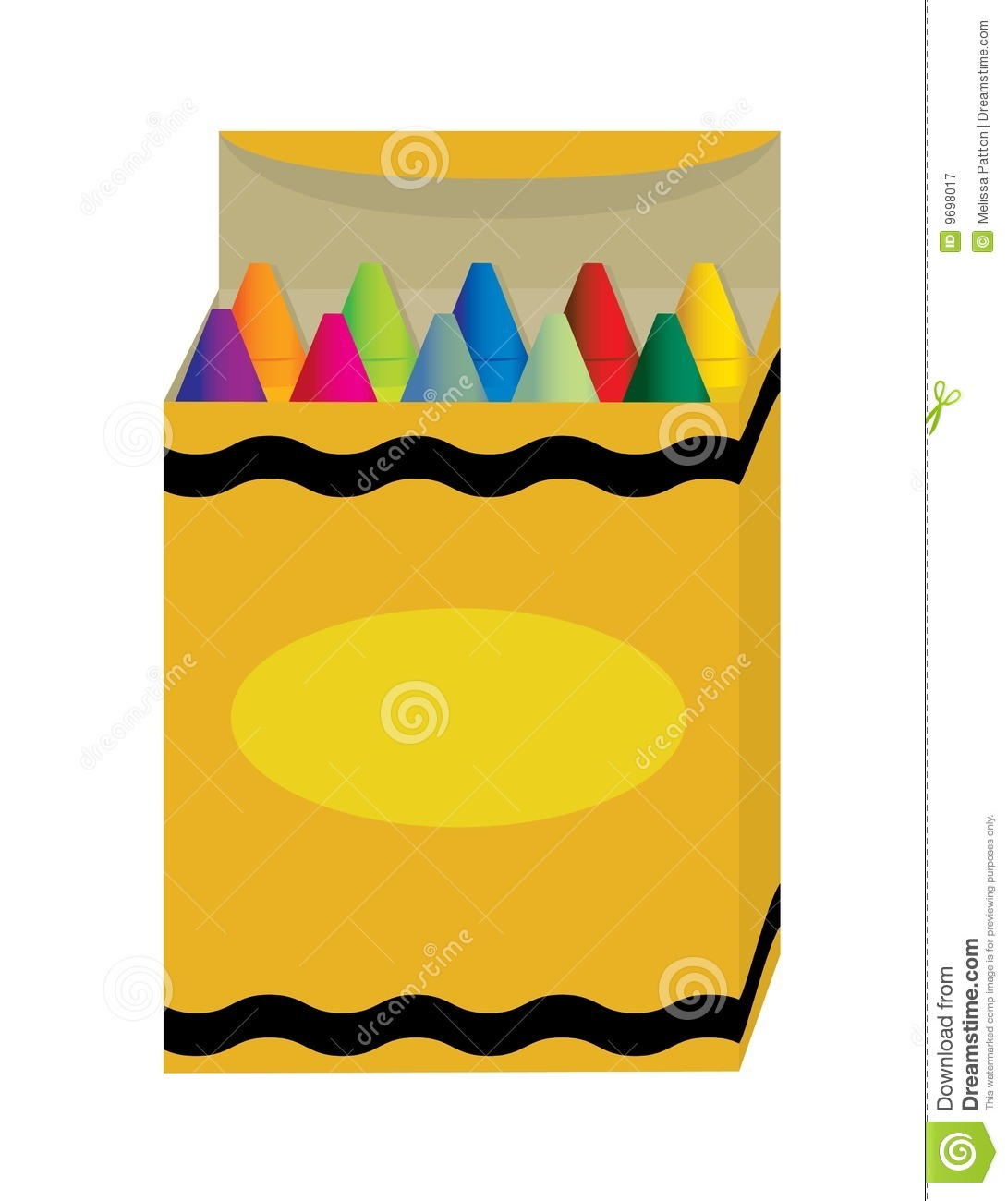 Box of crayons clipart » Clipart Station.