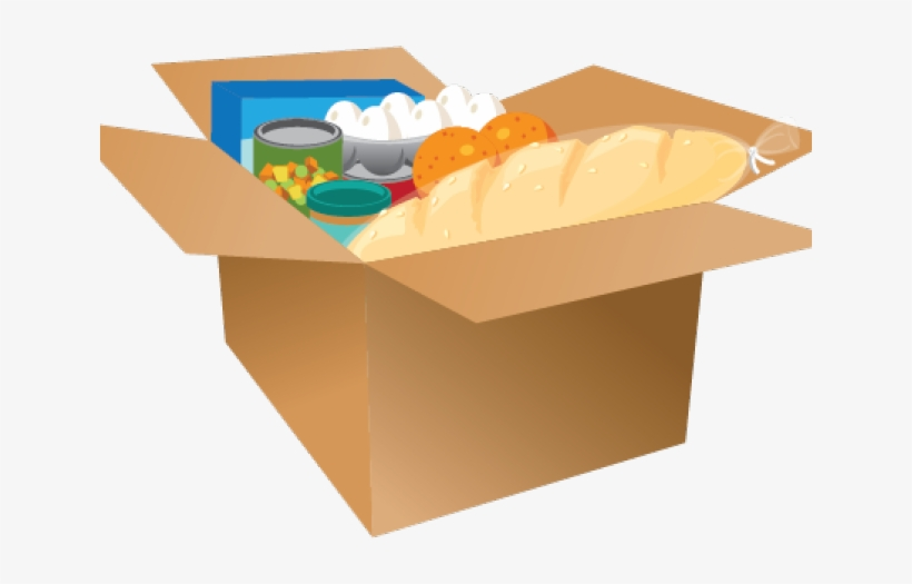 Box Clipart Canned Food.