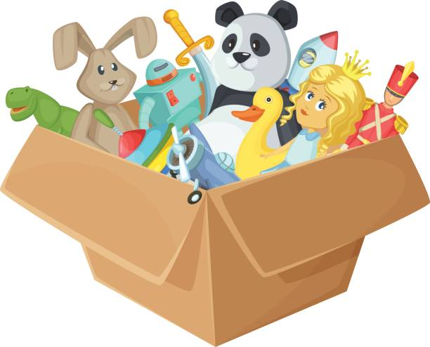 Box of toys clipart » Clipart Station.
