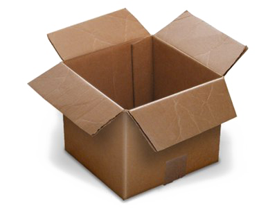 Box PNG Transparent Image.