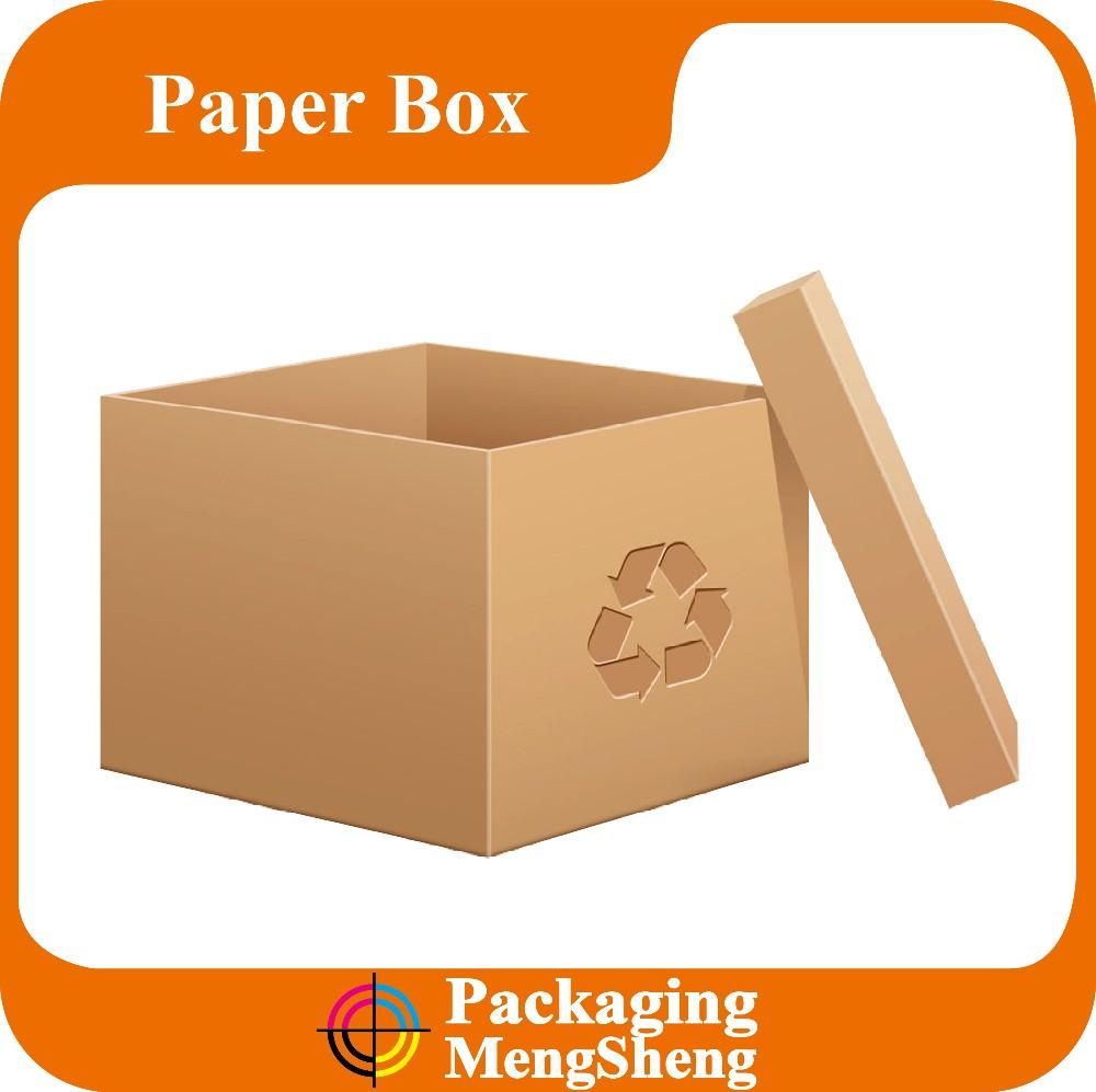 Bakery Color Cake Kraft Paper Gift Box Slide Open Box.