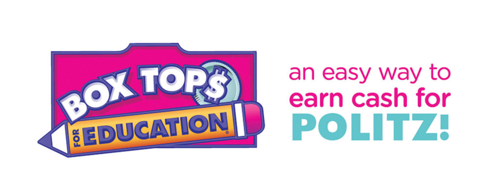 Box Tops for Education.