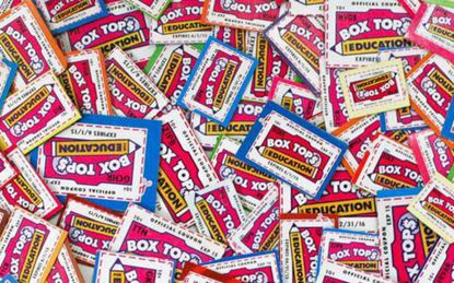 Skip the clip: Box Tops for Education goes digital.