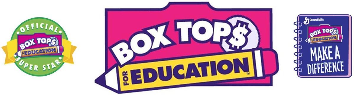Box Tops 4 Education.