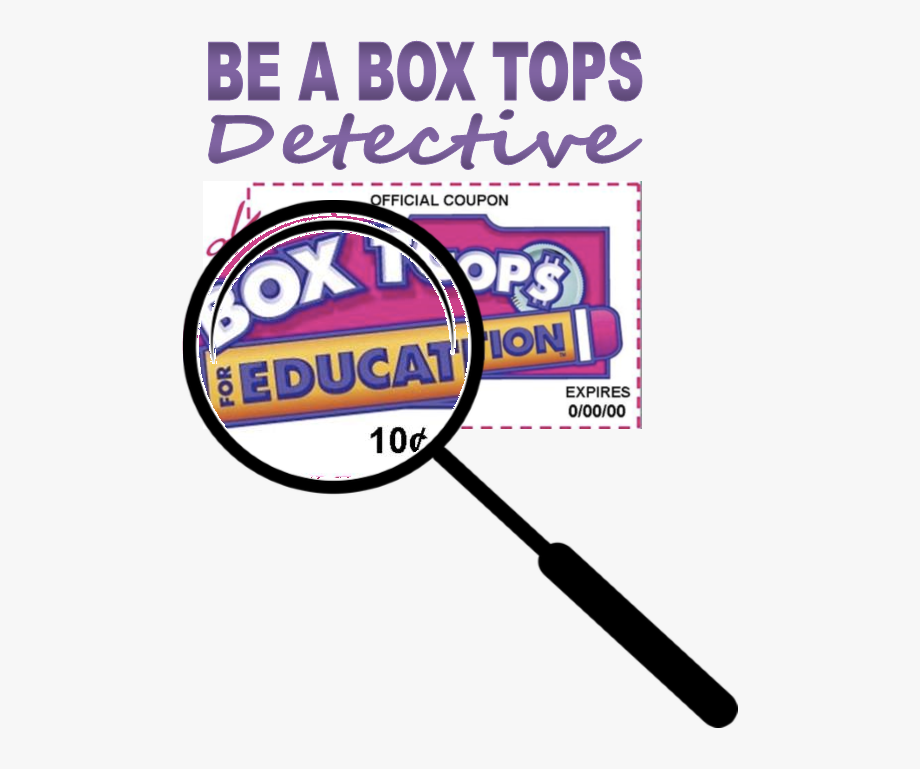 Box Tops For Education Label Clipart , Png Download.