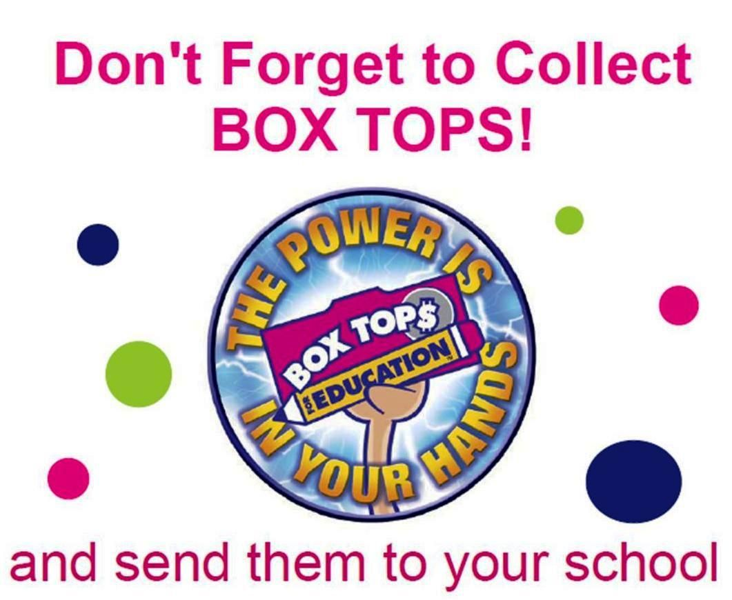 Box Tops for Education Clip Art.