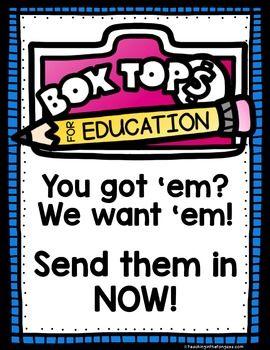 Box Tops Free ….