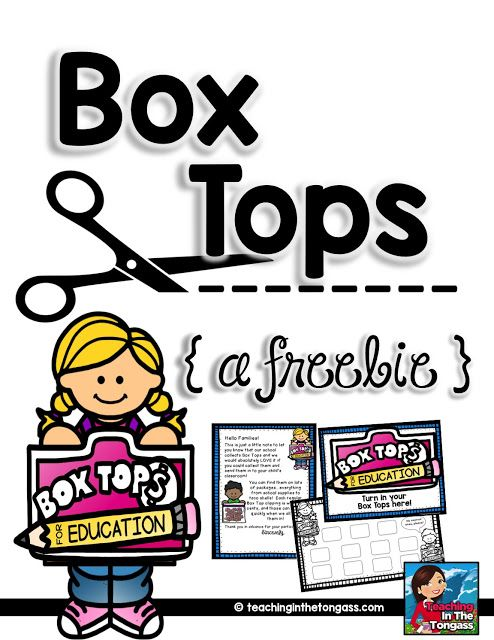 box tops.