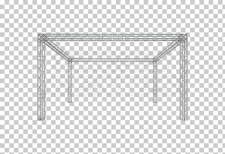 Box truss Structure Beam System, Global truss PNG clipart.