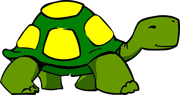 Free clipart turtle.