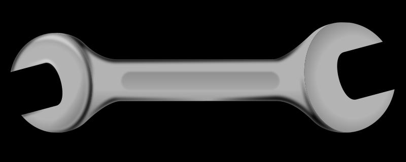 Mechanics Wrench Clipart.