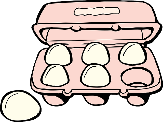 Egg Carton Cartoon.