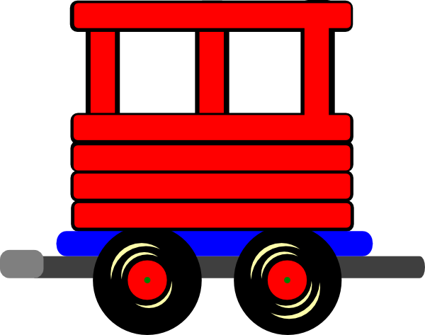 Train Car Clipart.