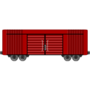 Boxcar Clipart Collection.