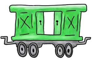 Boxcar Children Clip Art.