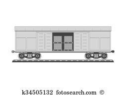 Boxcar Clipart Vector Graphics. 82 boxcar EPS clip art vector and.