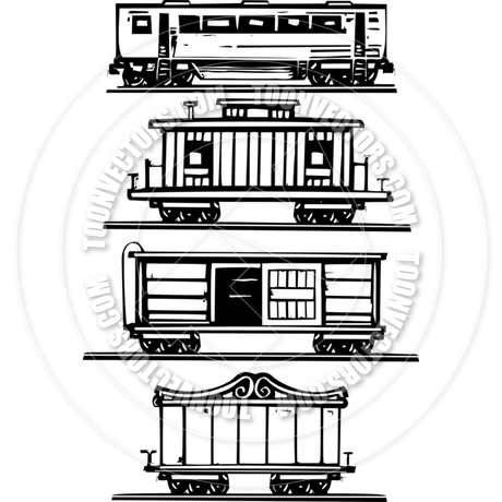 Train Car Collection by xochicalco.