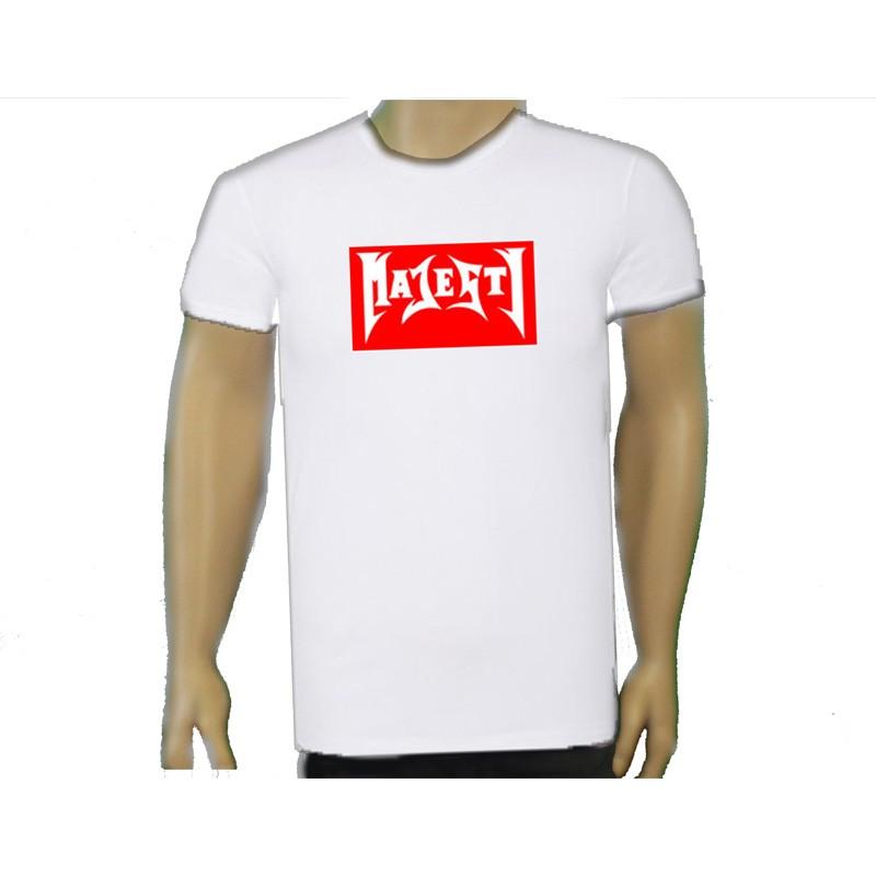 MAJESTY Boxed Logo Premium Shirt.