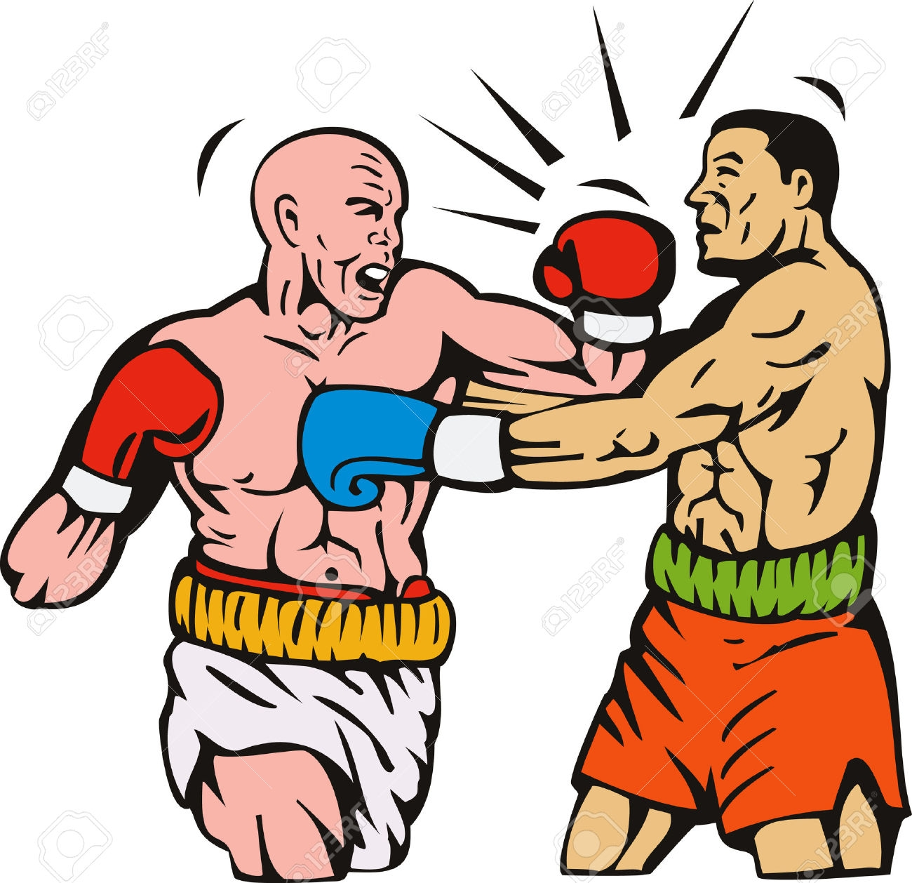 Boxing clipart boxing knockout, Boxing boxing knockout.