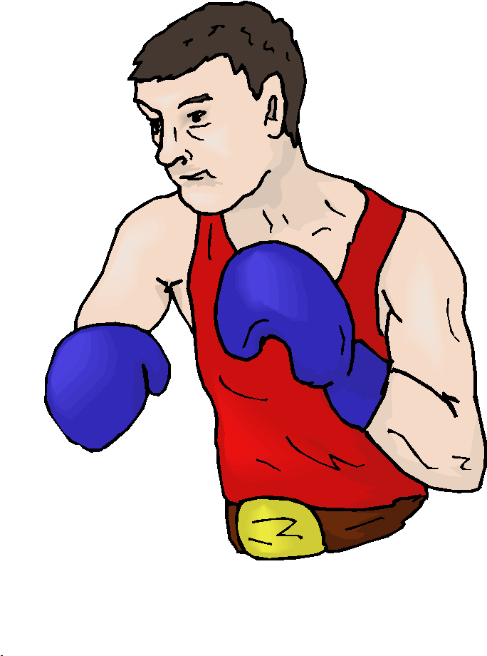 Boxer Clipart.