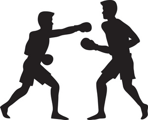 Boxers Boxing Clipart.