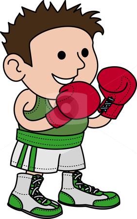 Clipart boxer.