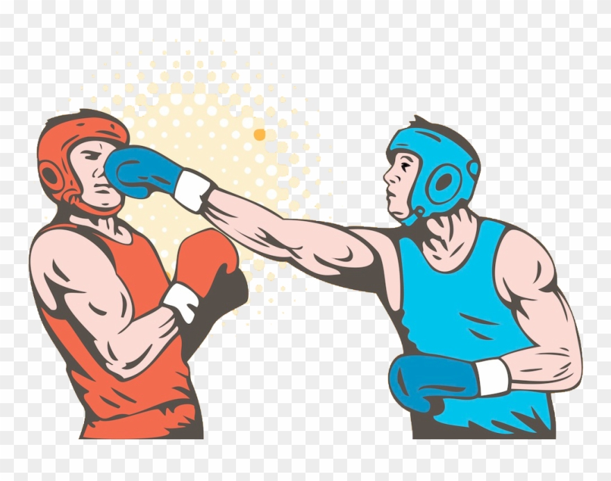 Banner Royalty Free Download Boxer Clipart Boxing Punch.