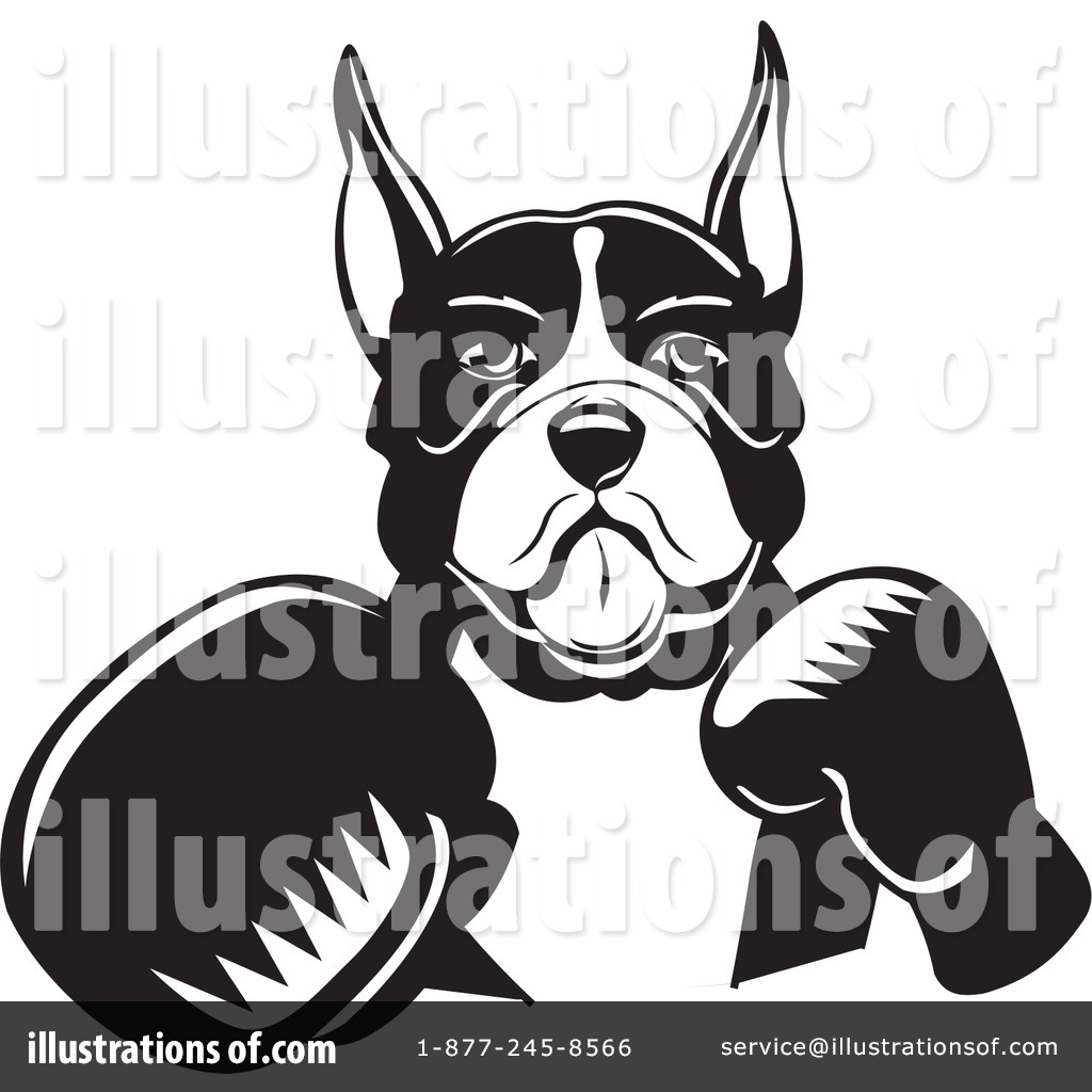 Boxer Dog Clipart #26538.