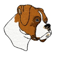 Boxer Dog Clipart.