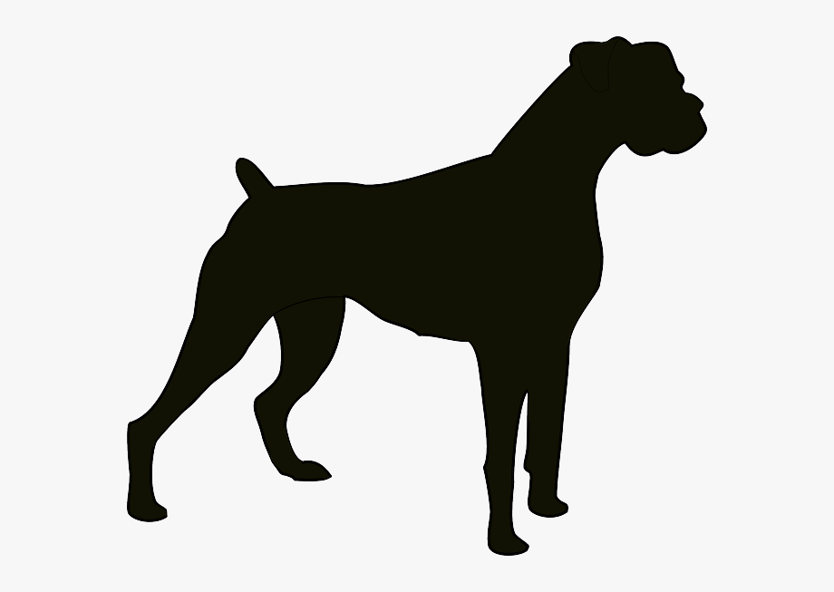 Free Boxer Dog Clipart.