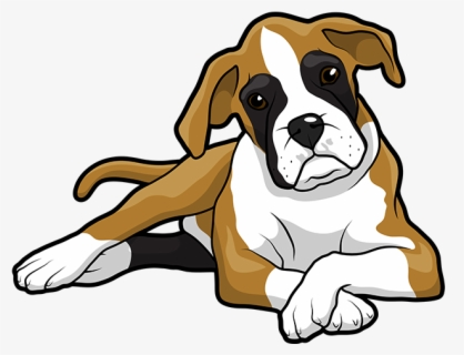Free Boxer Dog Clip Art with No Background.
