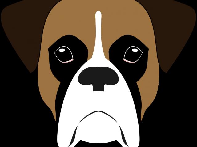 Bearded Collie Clipart Minimalist.