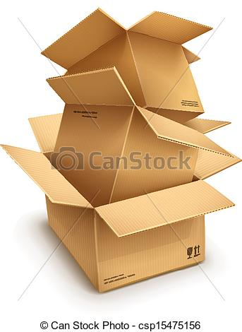 Boxes.clip Art.
