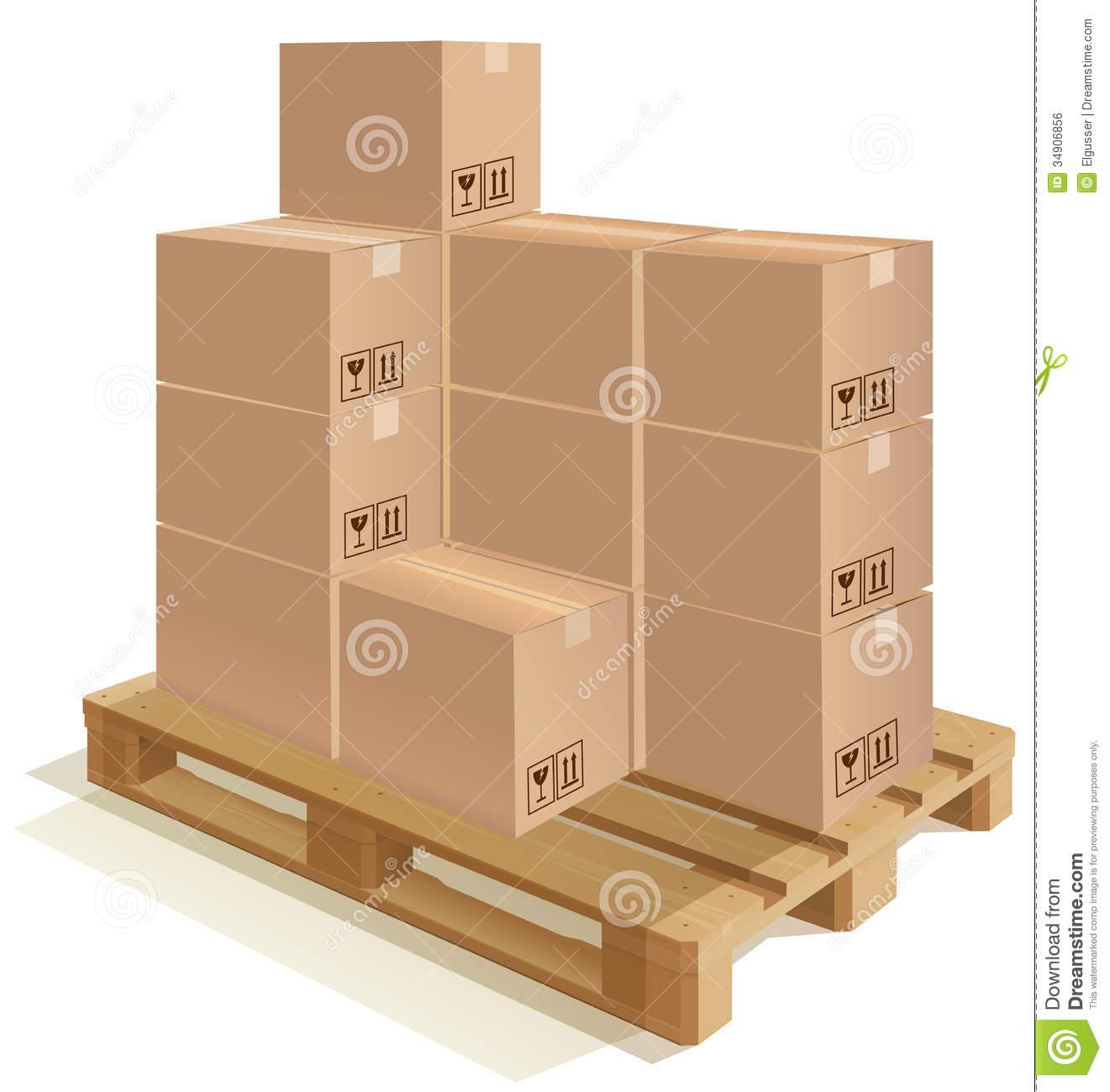 Boxes clip art.