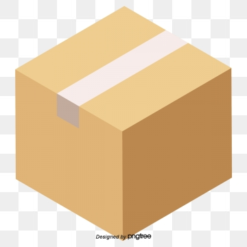 Cardboard Box PNG Images.