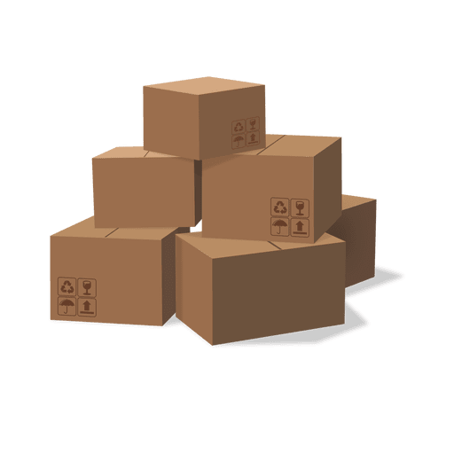 Png Boxes Vector, Clipart, PSD.